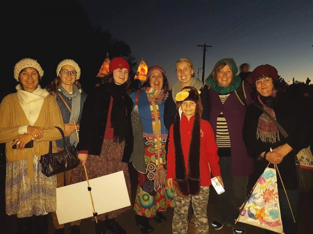 Lantern Parade 2016 group